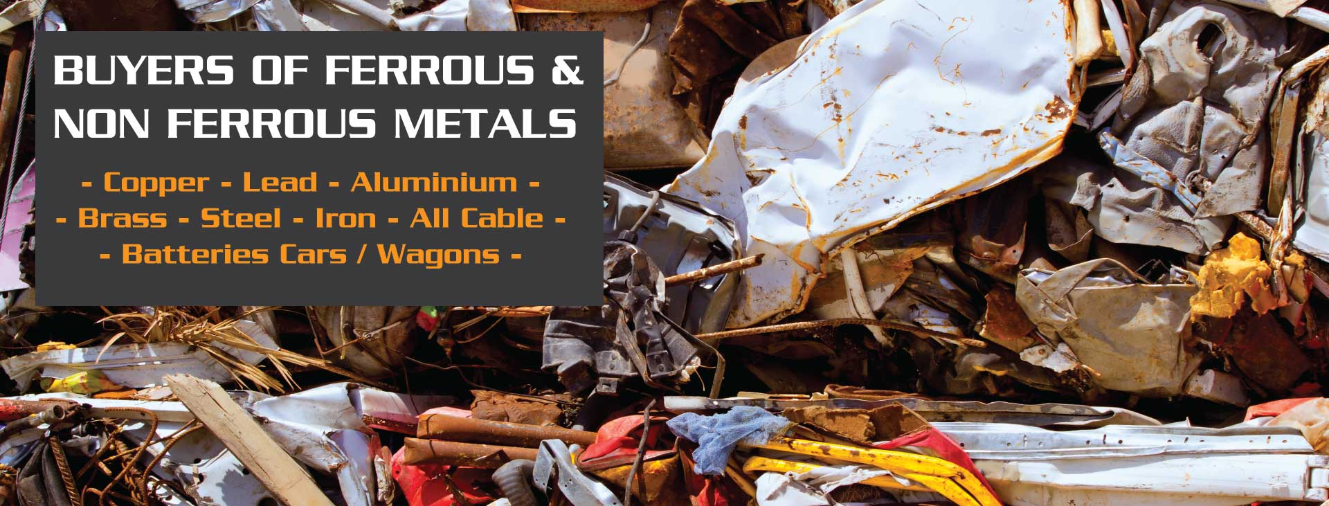 Halifax Metals - BUYERS OF FERROUS & NON FERROUS METALS